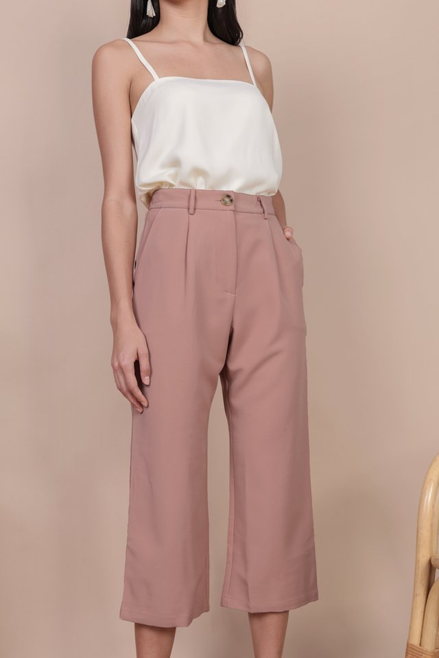 Cameron Straight Leg Pants (Tea Rose)