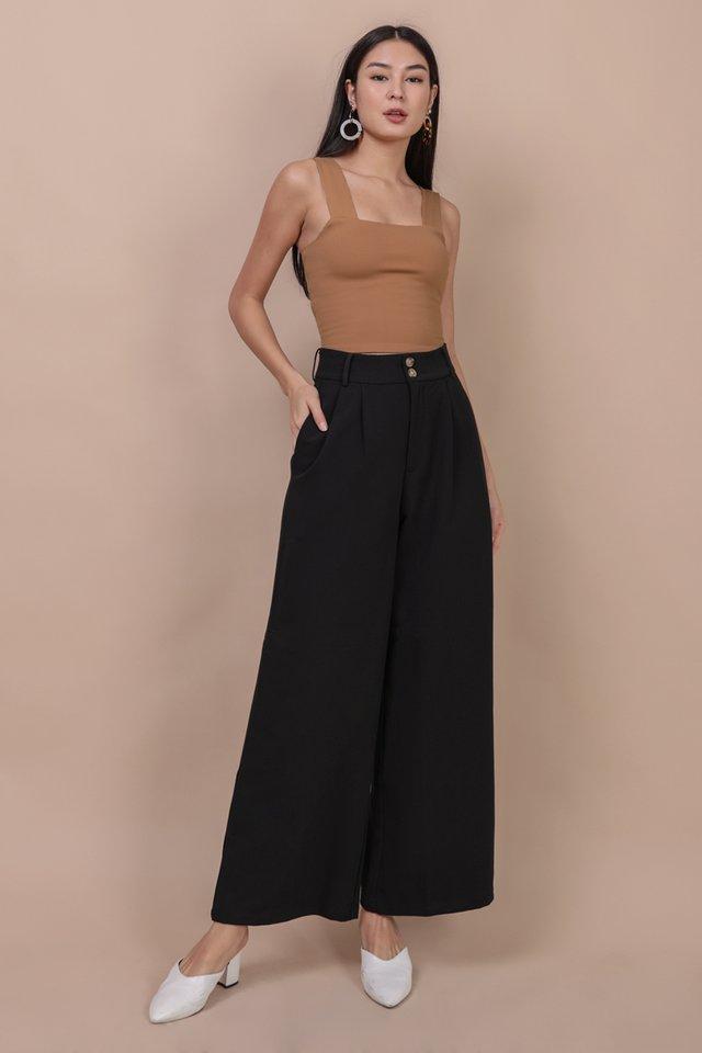 Casa Button Pants (Black)