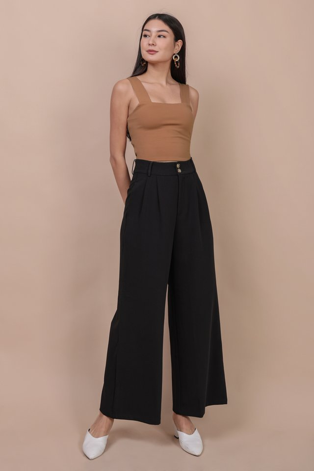 Casa Button Pants (Black)