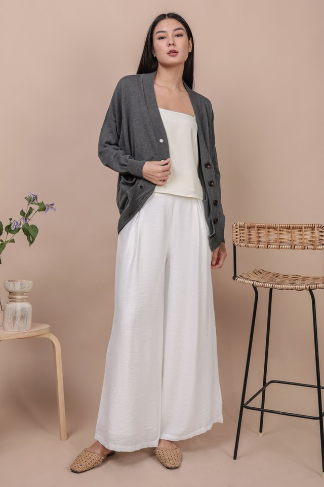 Costa Knit Cardigan (Grey)
