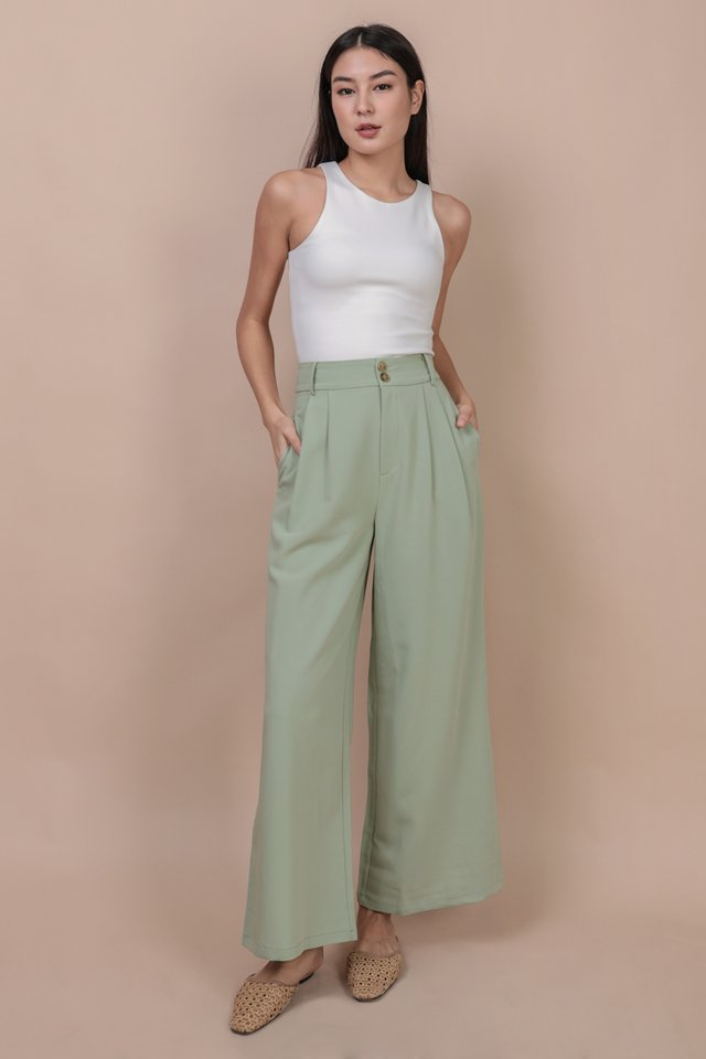 Casa Button Pants (Melon)
