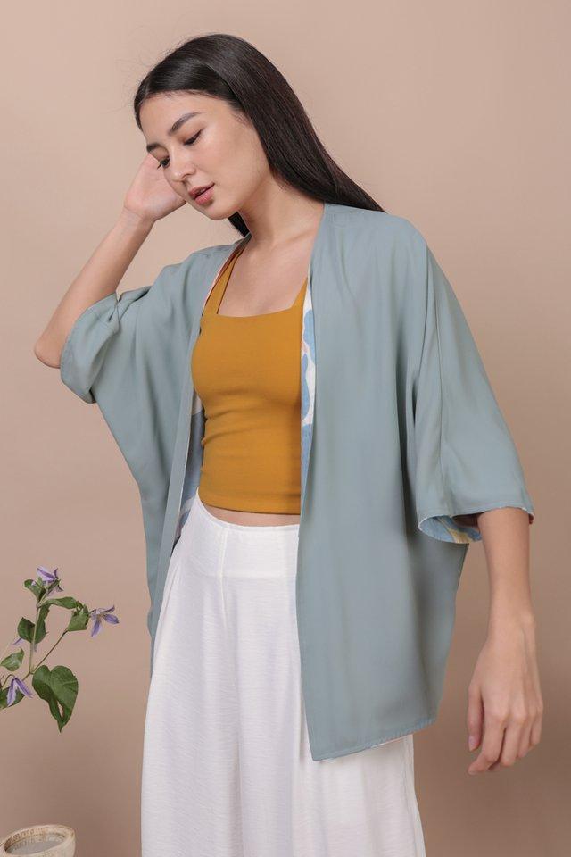 Jace Reversible Kimono (Blossom/Blue)