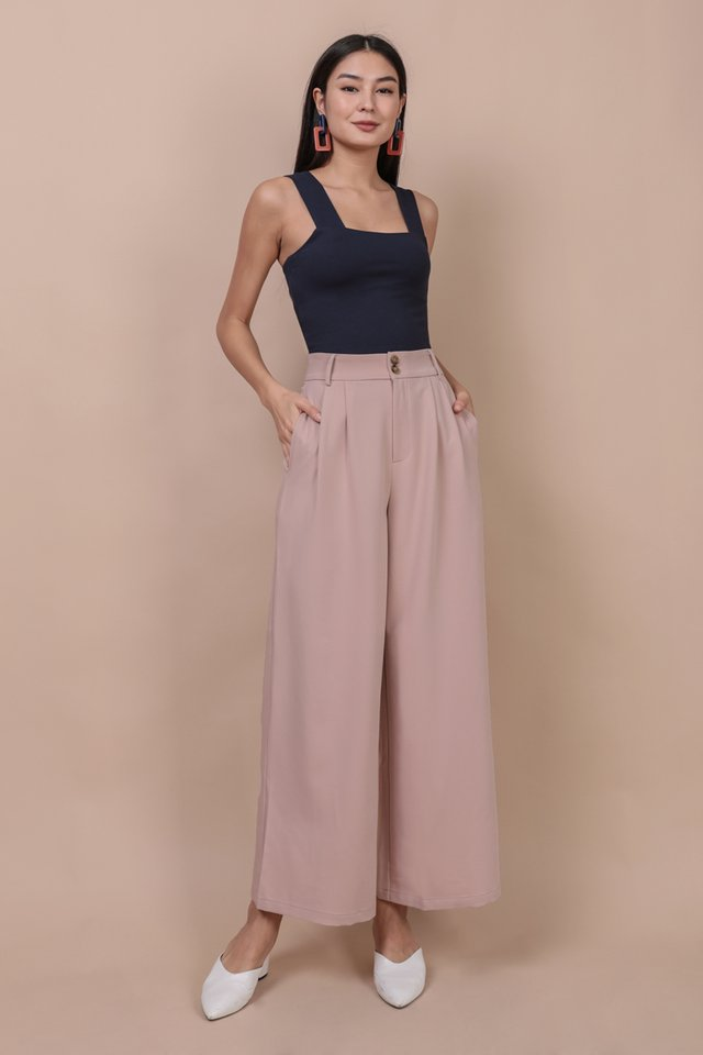 Casa Button Pants (Blossom Pink)