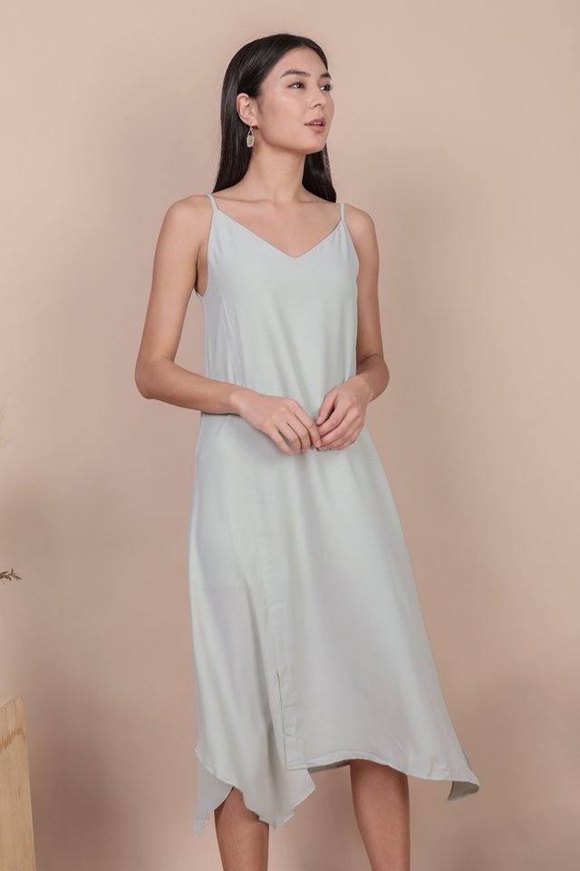 Tayla Slip Dress (Light Mint)