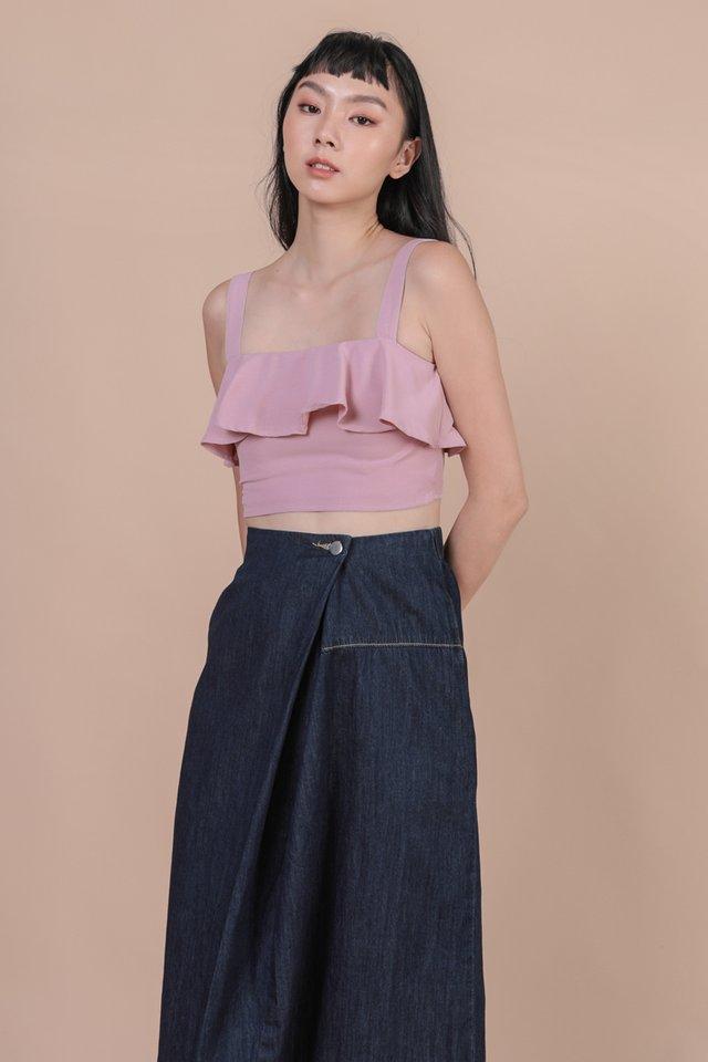 Reena Flutter Top (Pink Lilac)