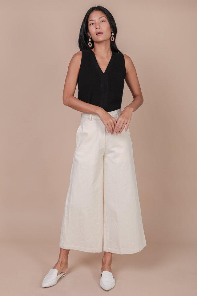 Sidra Knit Top (Black)