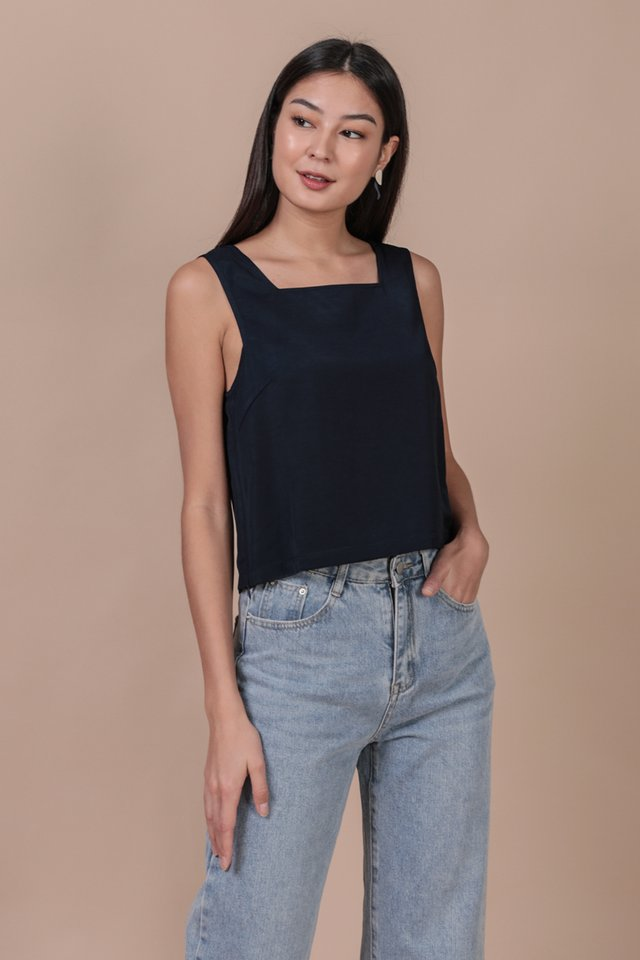 Bay Basic Top (Navy)