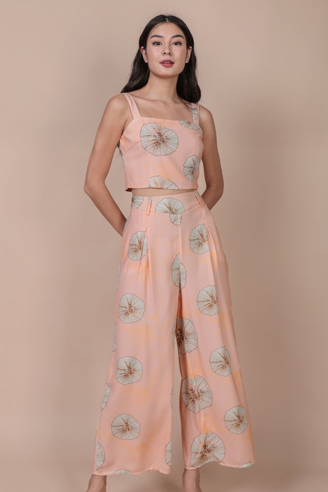 Bondi Flowy Pants (Pink Posies)