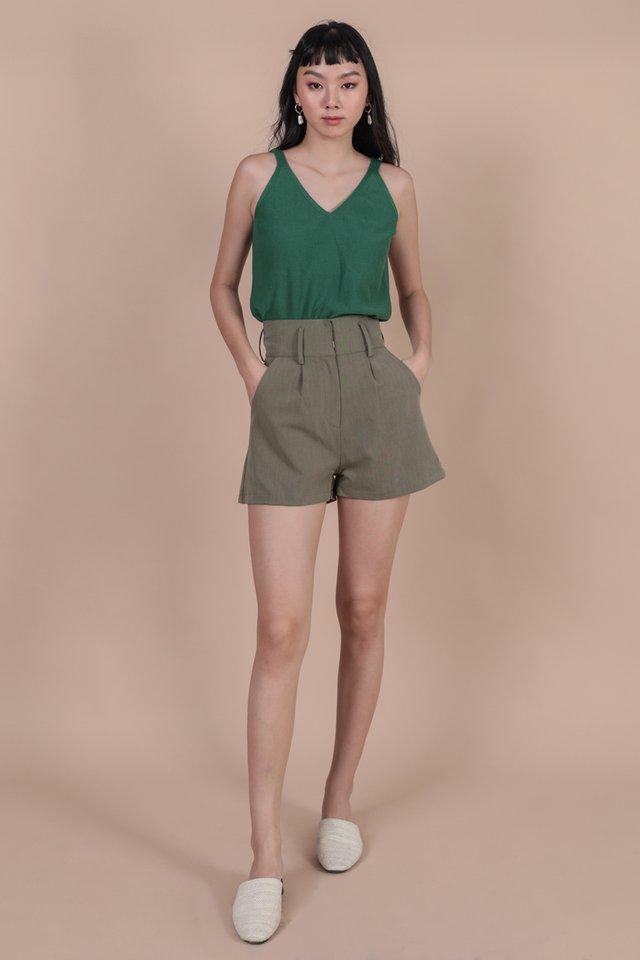 Carlos Knit Tank (Pine Green)