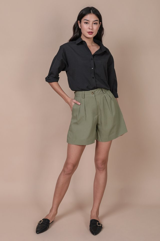 Marcel Shorts (Dusty Sage)
