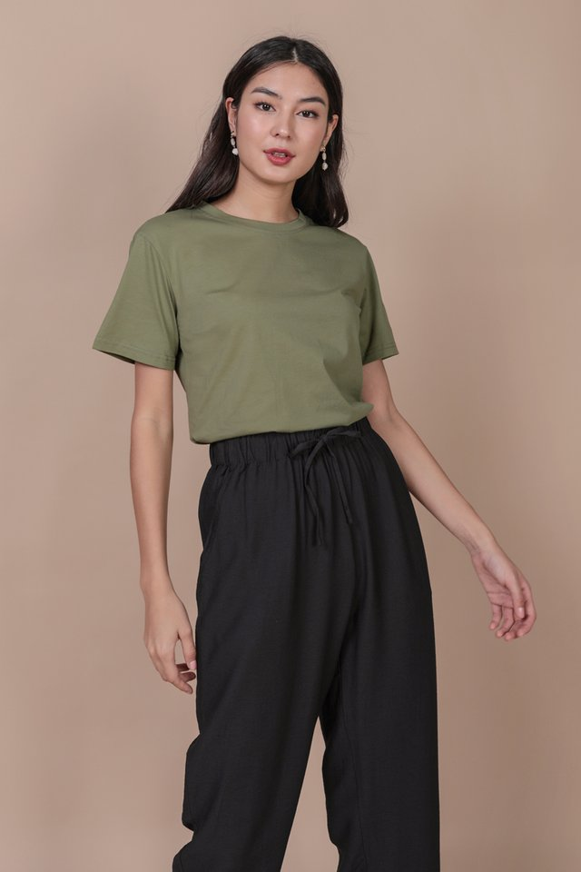 Ron Basic Tee (Sage Green)