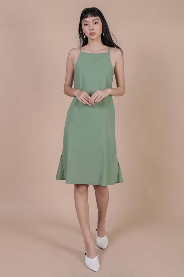 Stanley Midi Dress (Fern)