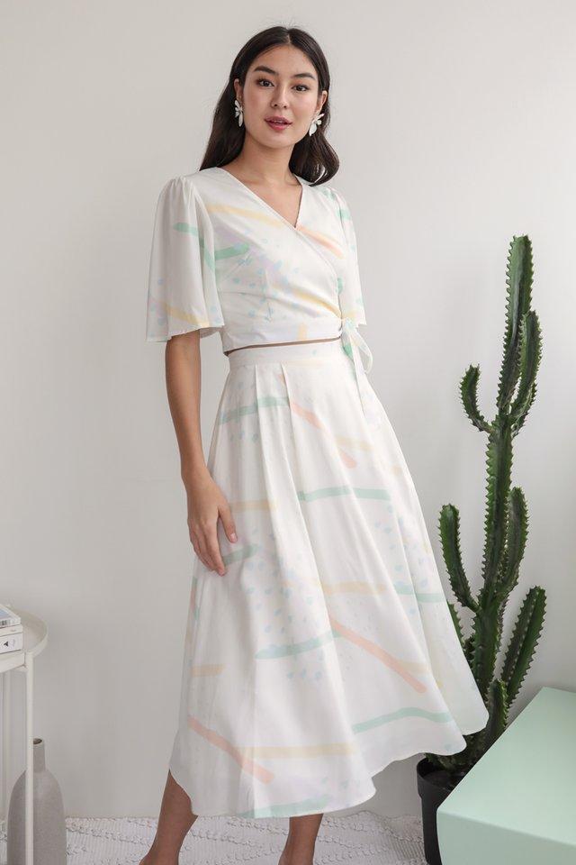 Anita Midi Skirt (Aurora)