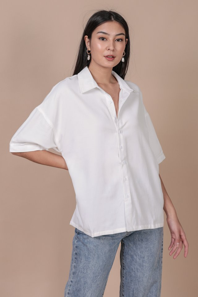 Beyond Boyfriend Shirt (White)