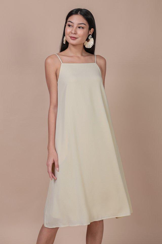 Lyra Tent Dress (Cream)
