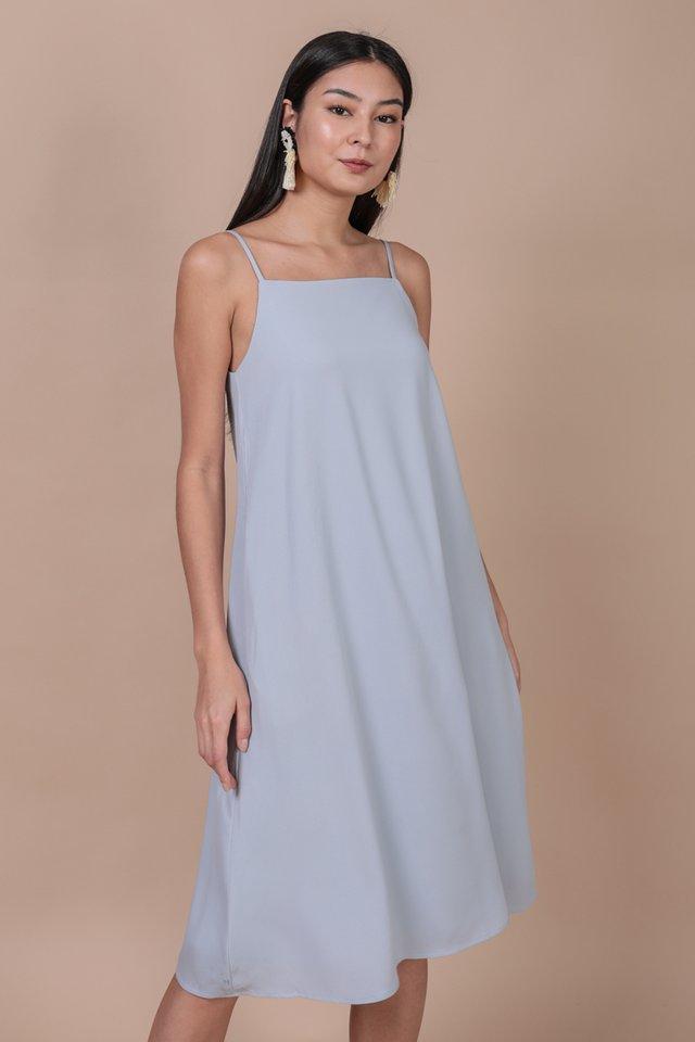Lyra Tent Dress (Sky)