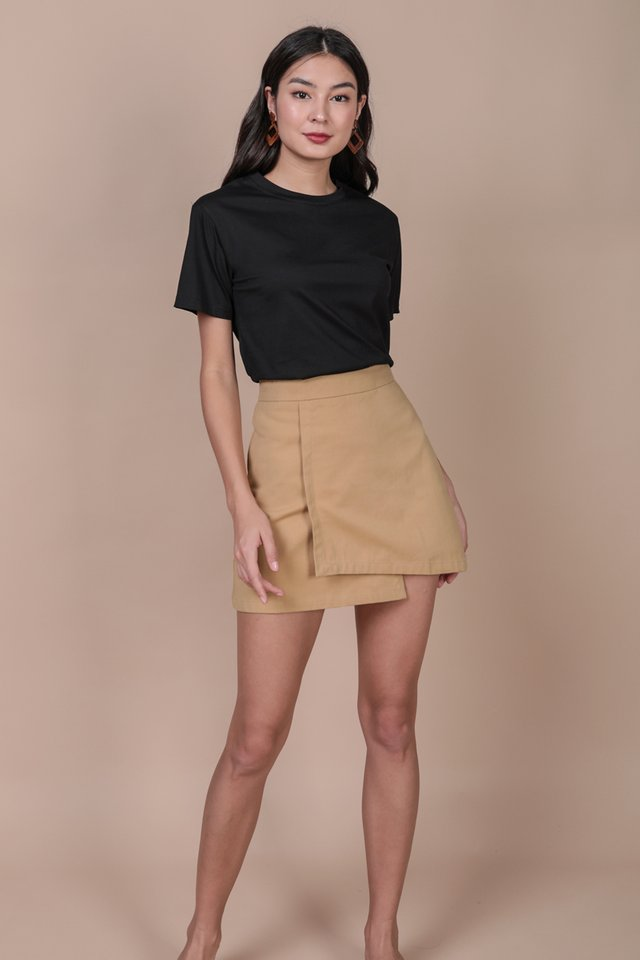 Louie Asymmetrical Skirt (Sand)