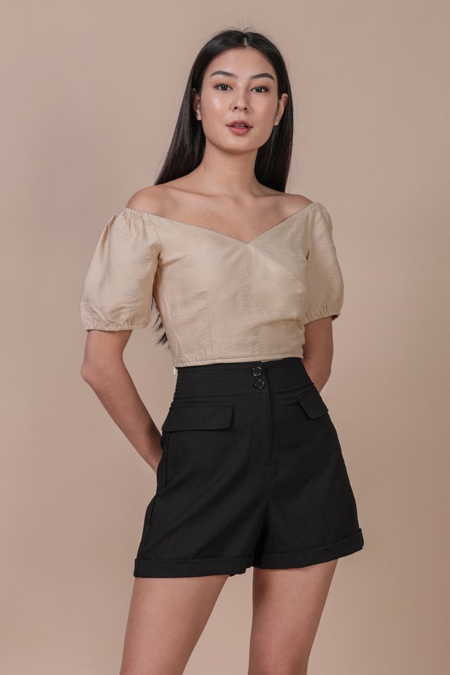 Ace Off Shoulder Top (Nude)