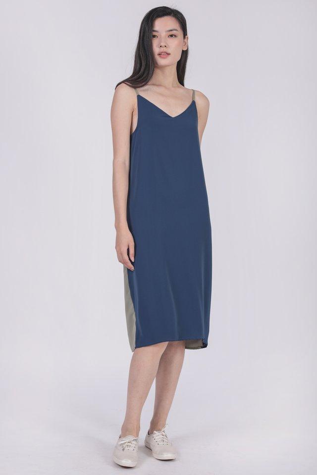 Kandra Two Way Dress (Sage/Navy)