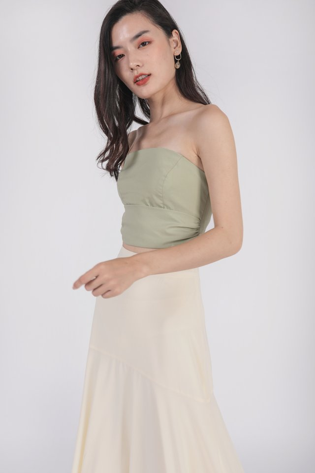 Anton Tube Top (Spring Green)