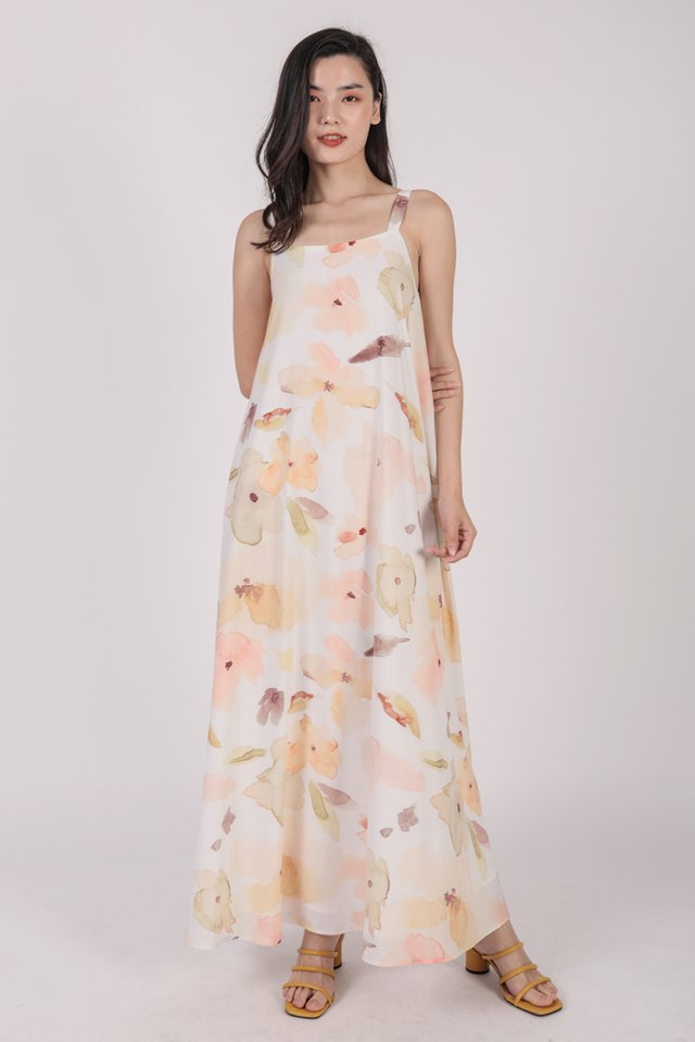 Aurelia Maxi Dress (Florescent)
