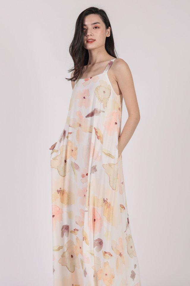 Aurelia Maxi Dress (Florescent)