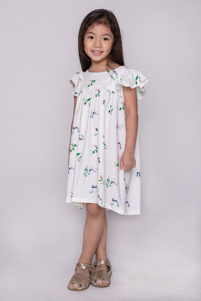 Joy Ruffles Kids Dress (Petite Fleur)