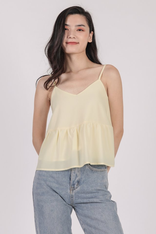 Marid Babydoll Top (Cream)