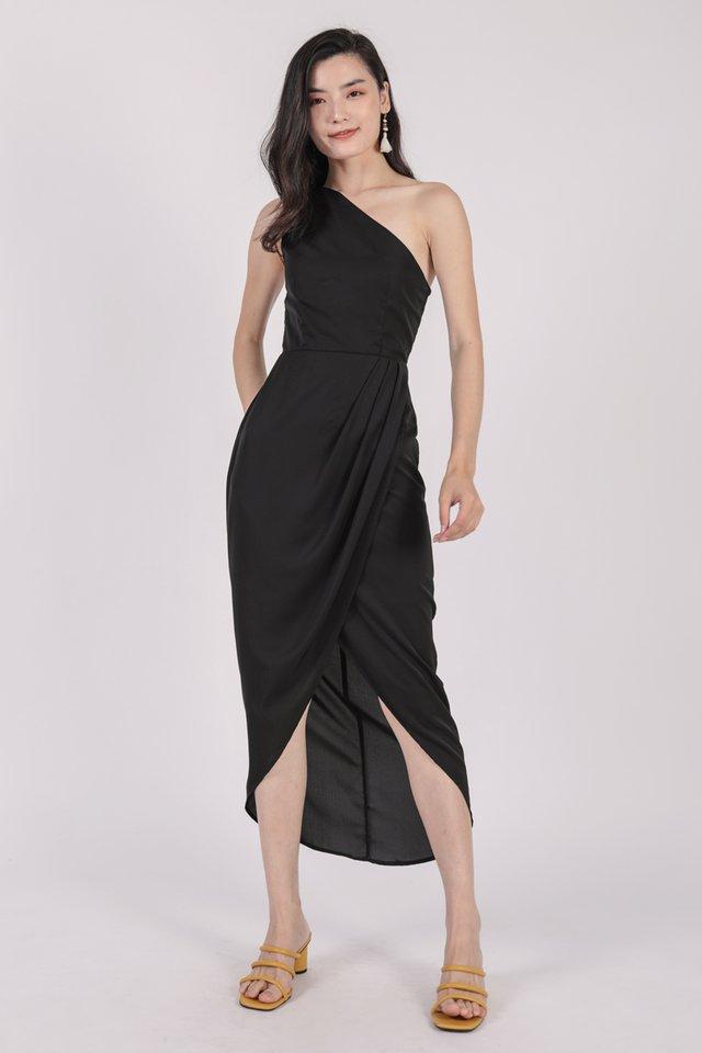 Ser Toga Dress (Black)