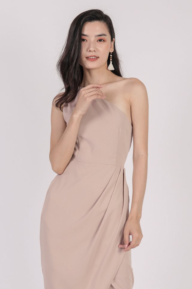 Ser Toga Dress (Nude)